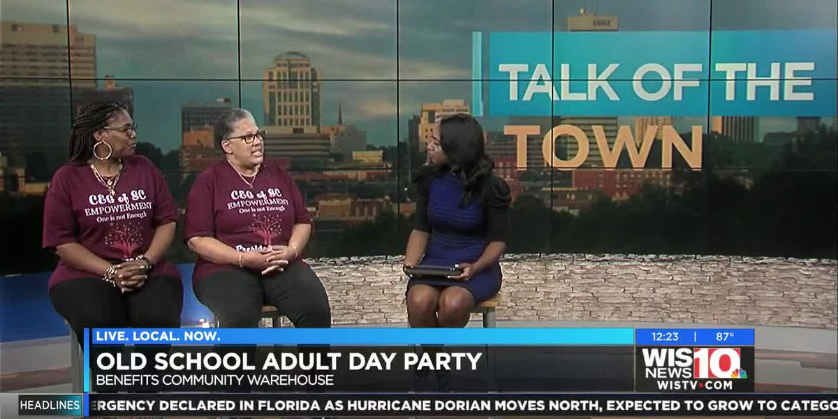 Talk of the Town: Old School Adult Day Party