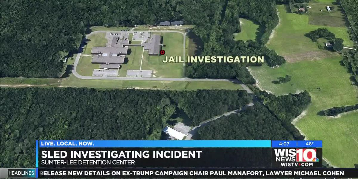 SLED investigation underway at an SC detention center, officials say
