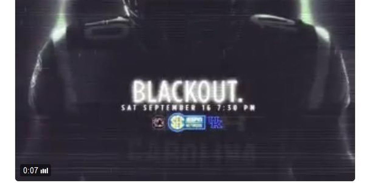 DARK AS THE NIGHT: USC's home opener to be a blackout
