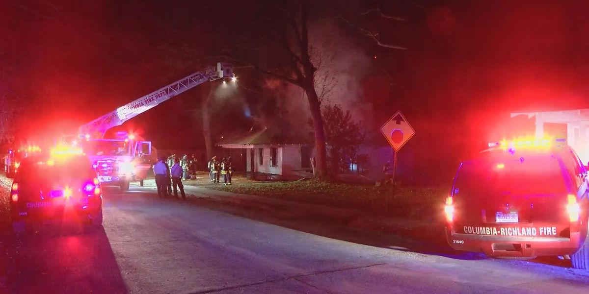 Cause of fire at vacant Columbia home investigated