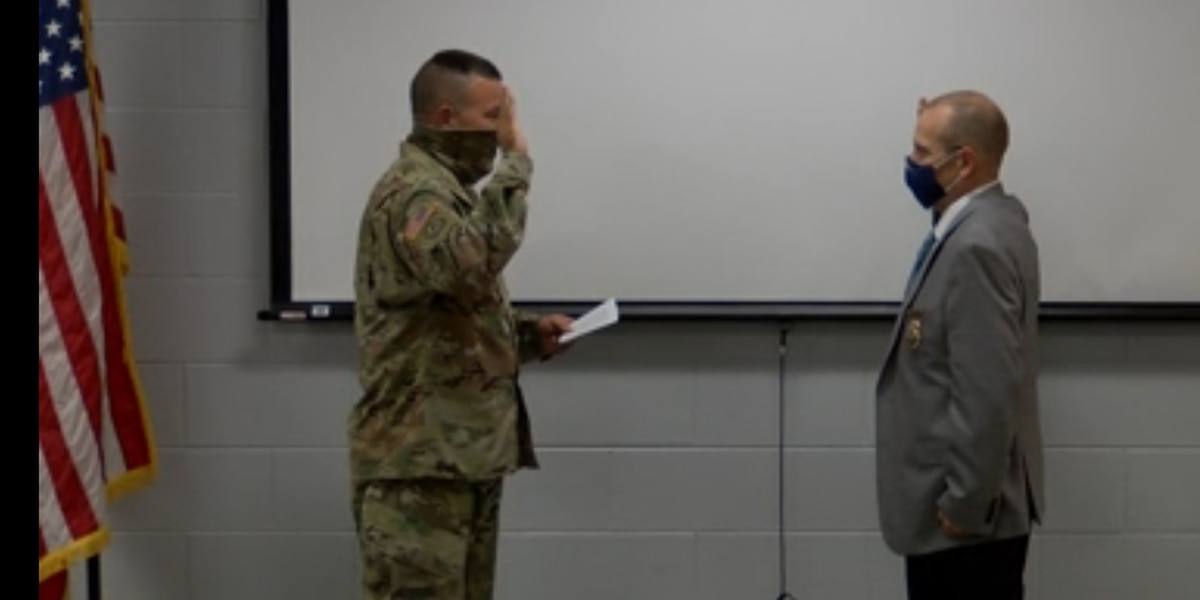 Alabama man reenlists in military at age 56