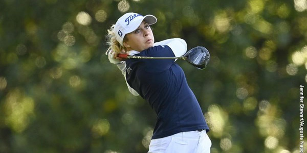 Roussin-Bouchard Ties for Third at Augusta National Women's Amateur