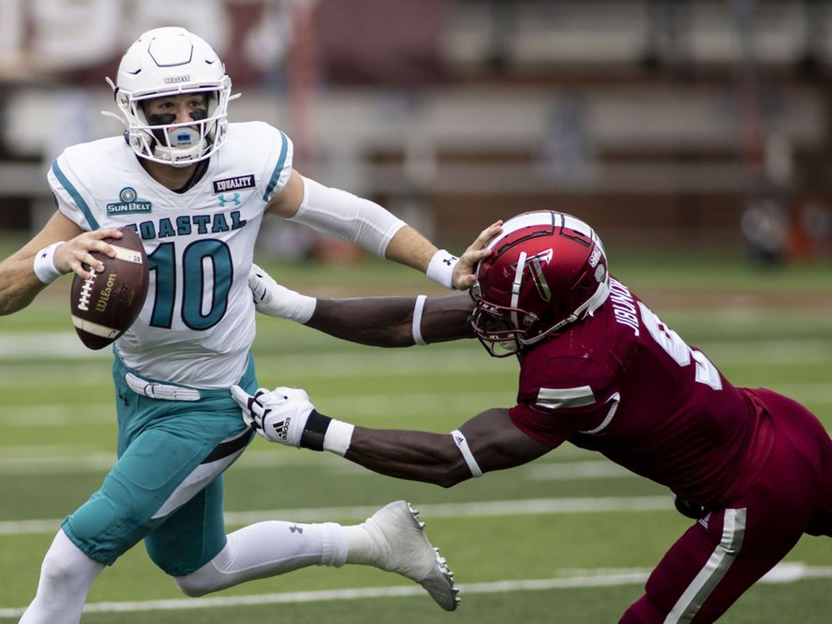 Coastal Carolina to play in Cure Bowl vs. Liberty