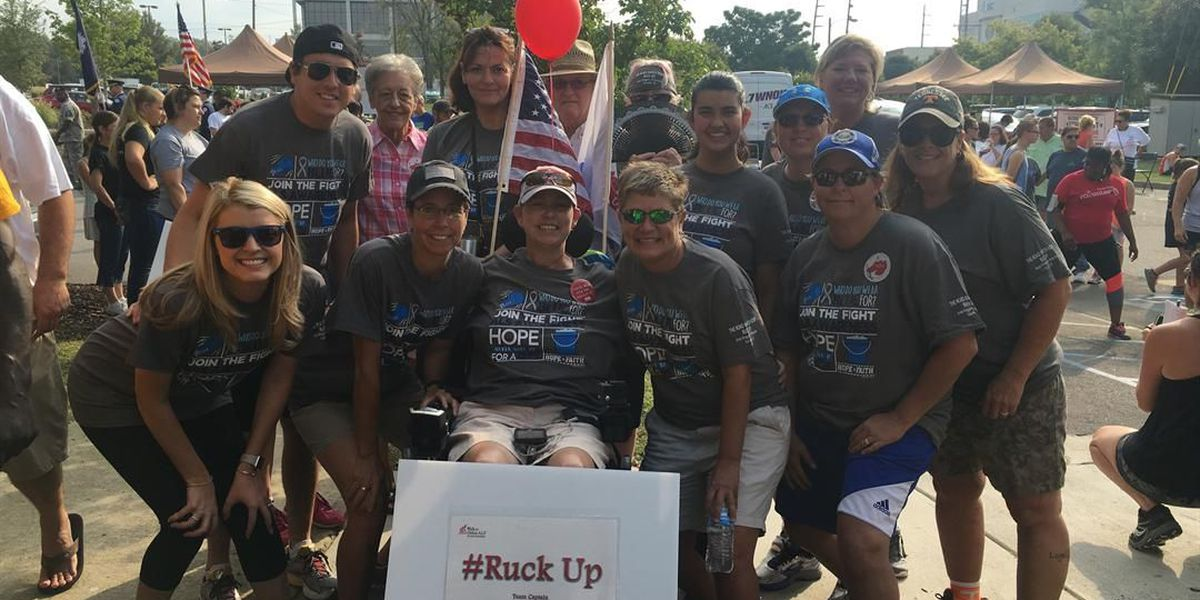 Midlands veteran with ALS hopes to raise awareness for upcoming walk
