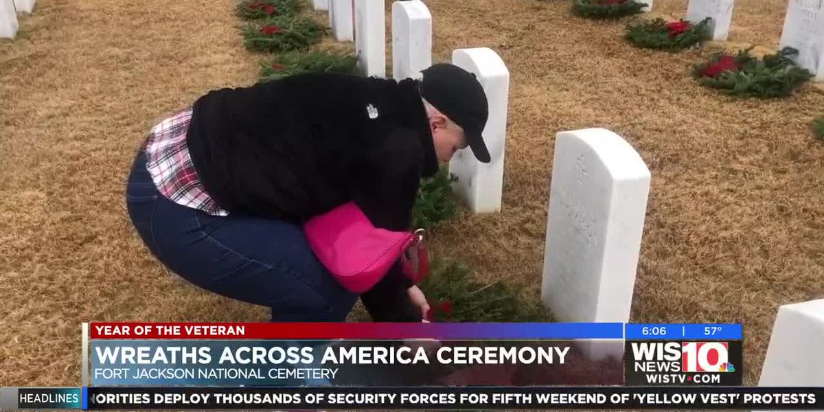 Midlands Gold Star wife remembers husband each year at Ft. Jackson for Wreaths Across America