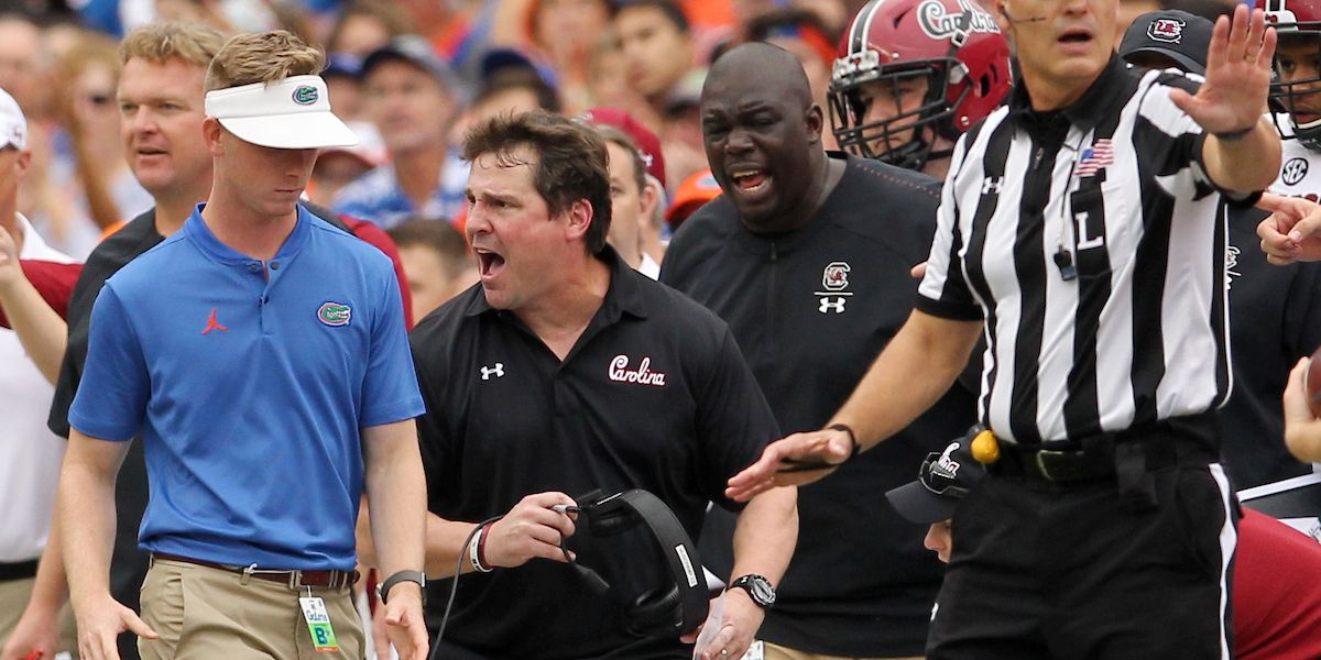 Caslen supports Tanner's statement on Muschamp