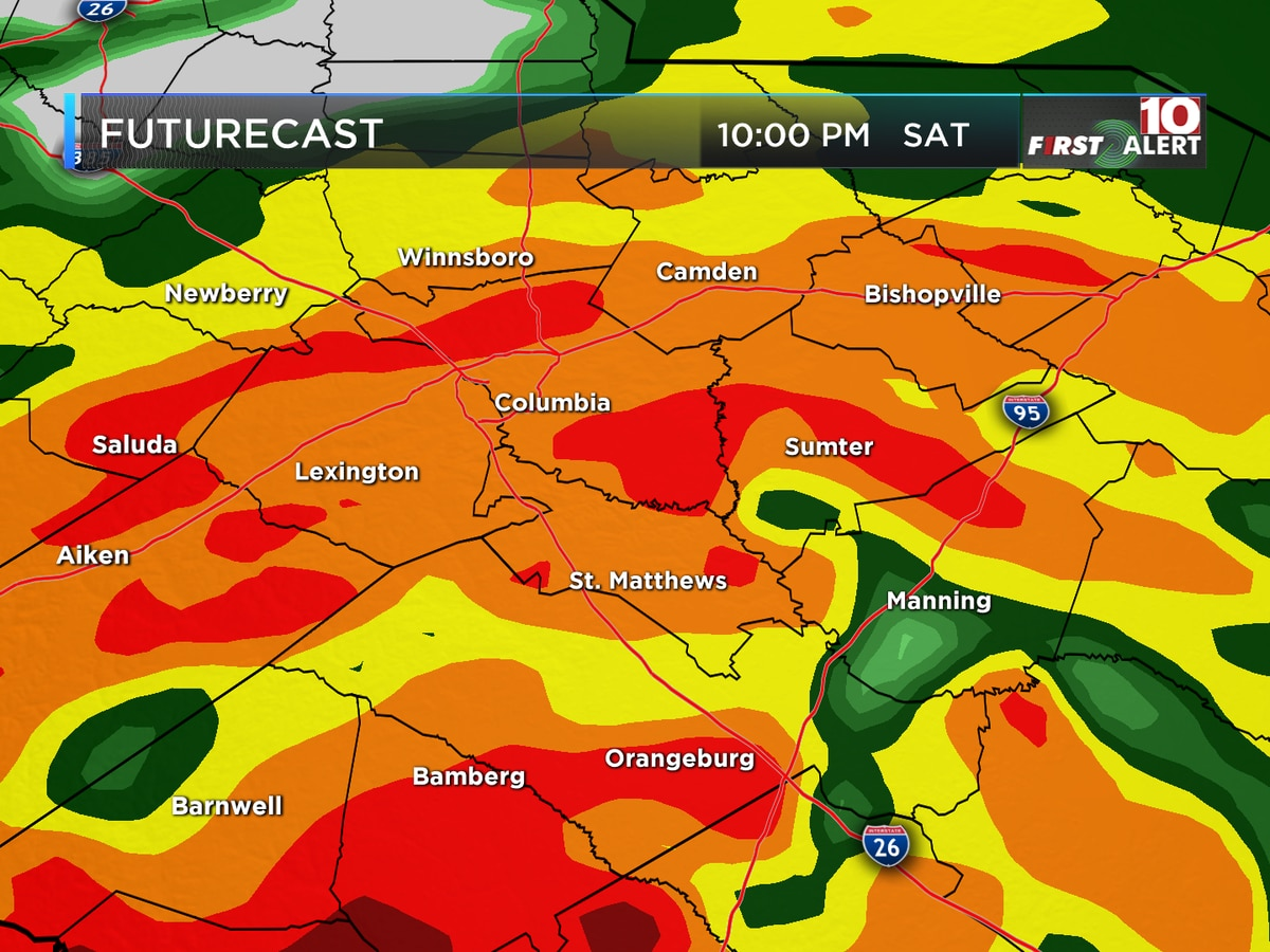 FIRST ALERT WEATHER: Heavy rain and wind may change weekend plans