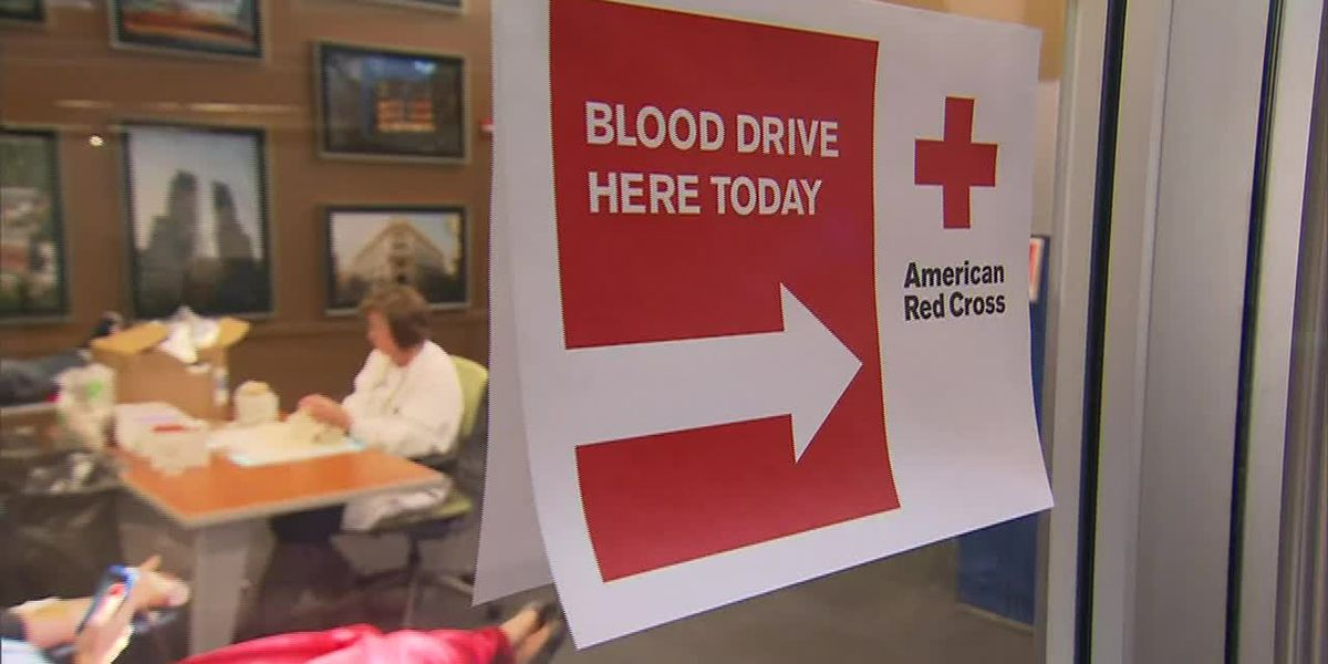 Red Cross seeks blood donations to keep up supply during pandemic