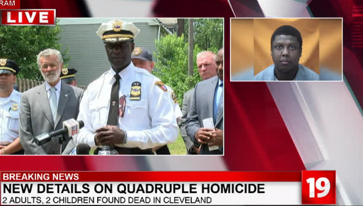 Cleveland Police: Father charged for murder of son, 2 adults, 1