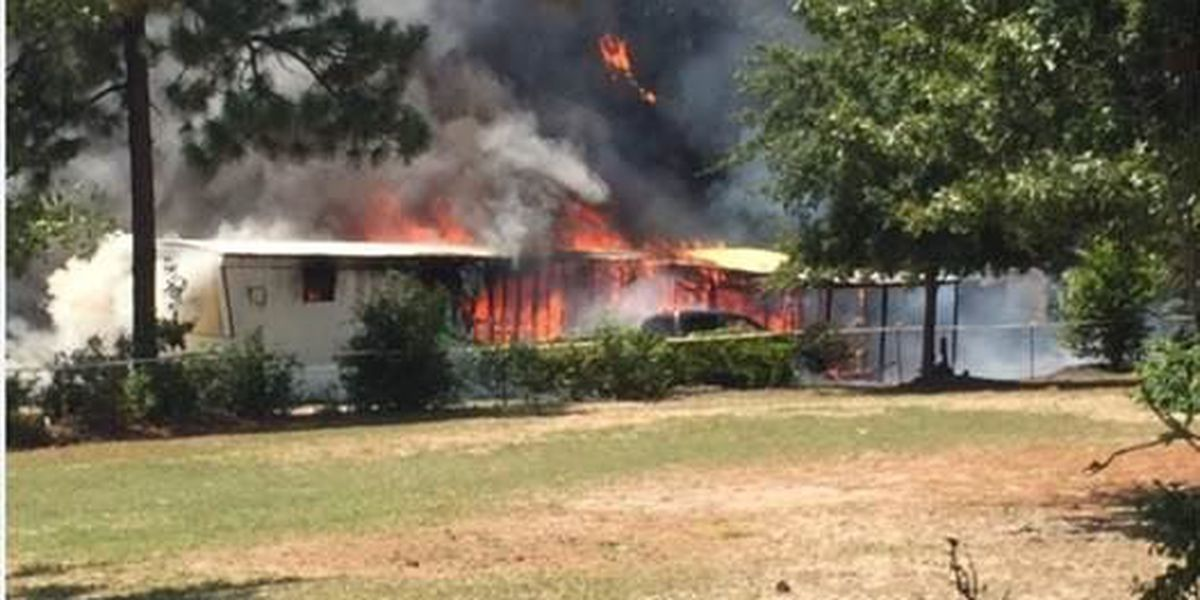 Mobile home fire in Lexington Co. sends patient to hospital