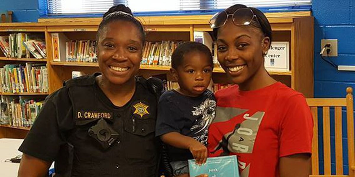 Midlands deputy saves toddler from choking on candy at school