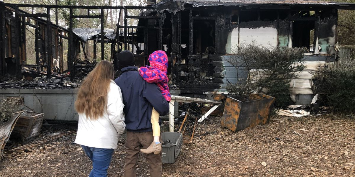 Newberry family loses house, dog to house fire