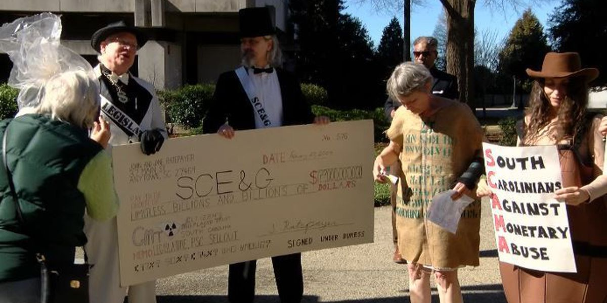 Anti-nuclear protestors rally against site at State House