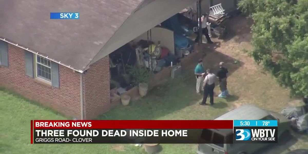 Three found dead inside Clover home