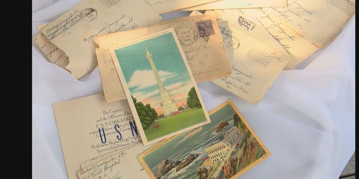 Hidden WWII letters connect family to lost loved one