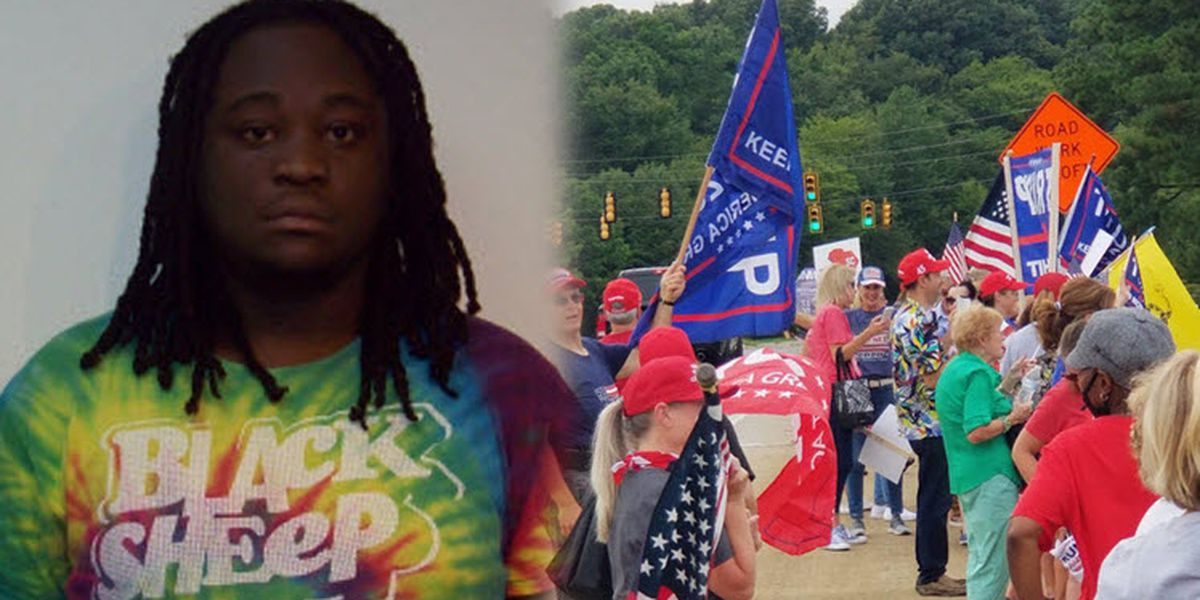 Man accused of firing gun near Trump supporters gathering in Fort Mill