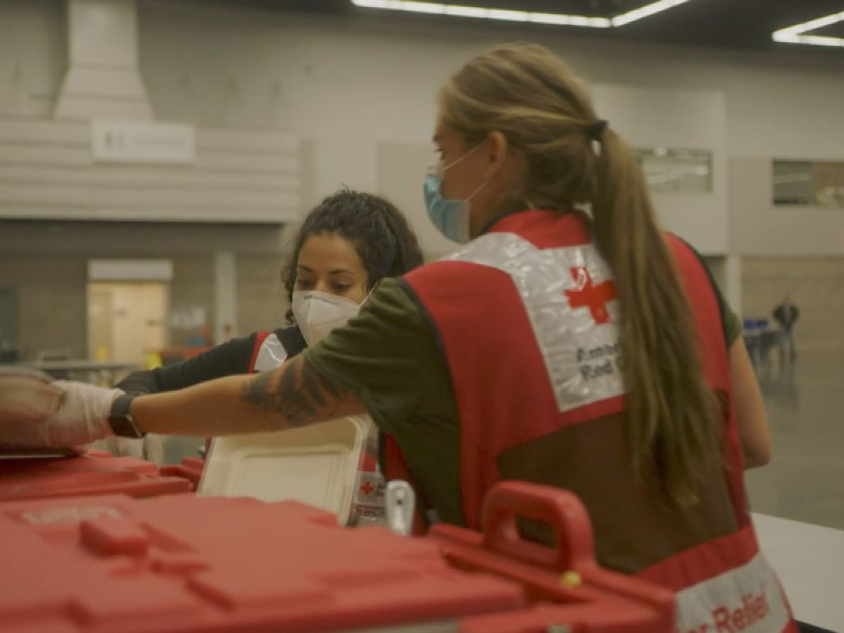SC Red Cross volunteers out West encourages more people to help: 'It certainly gives you a big sense of purpose'.