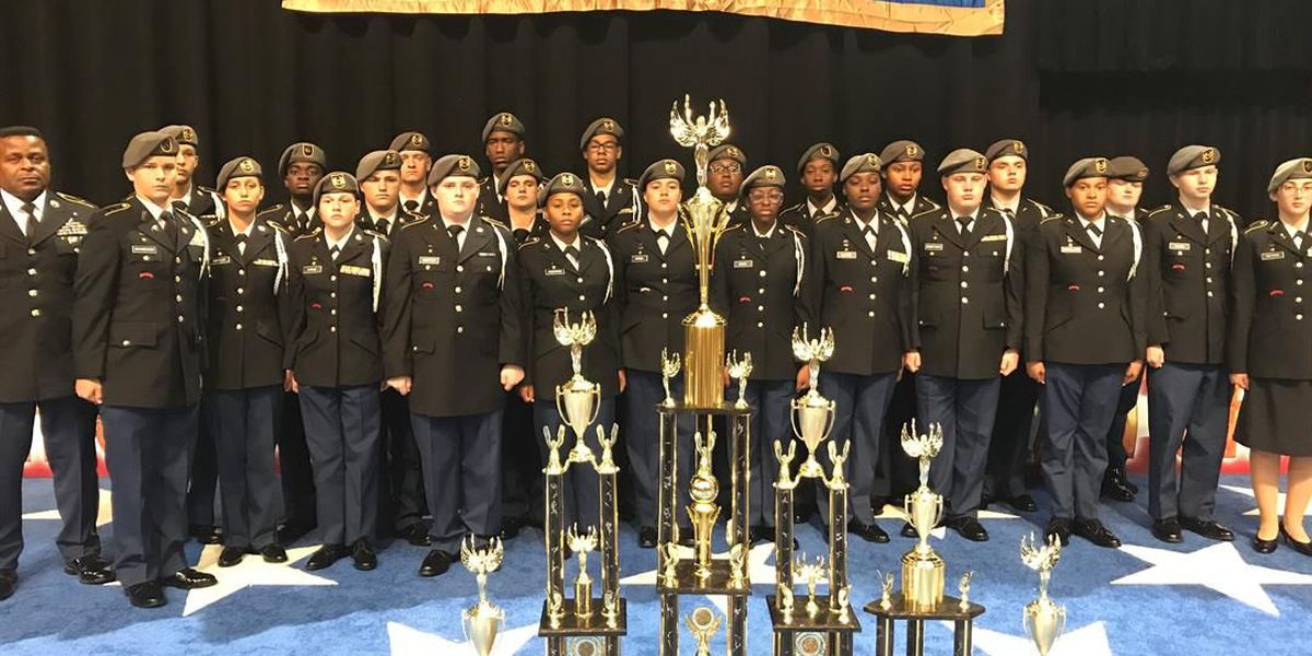 Airport High JROTC Team places second in the nation at drill team championship