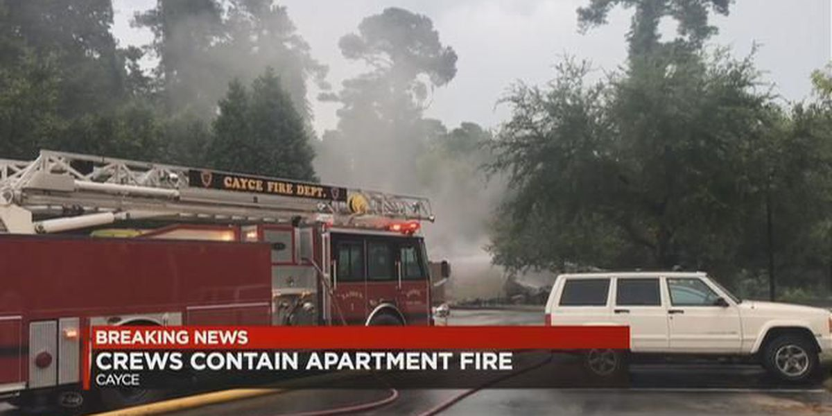No injuries following fire at Cayce Cove apartments