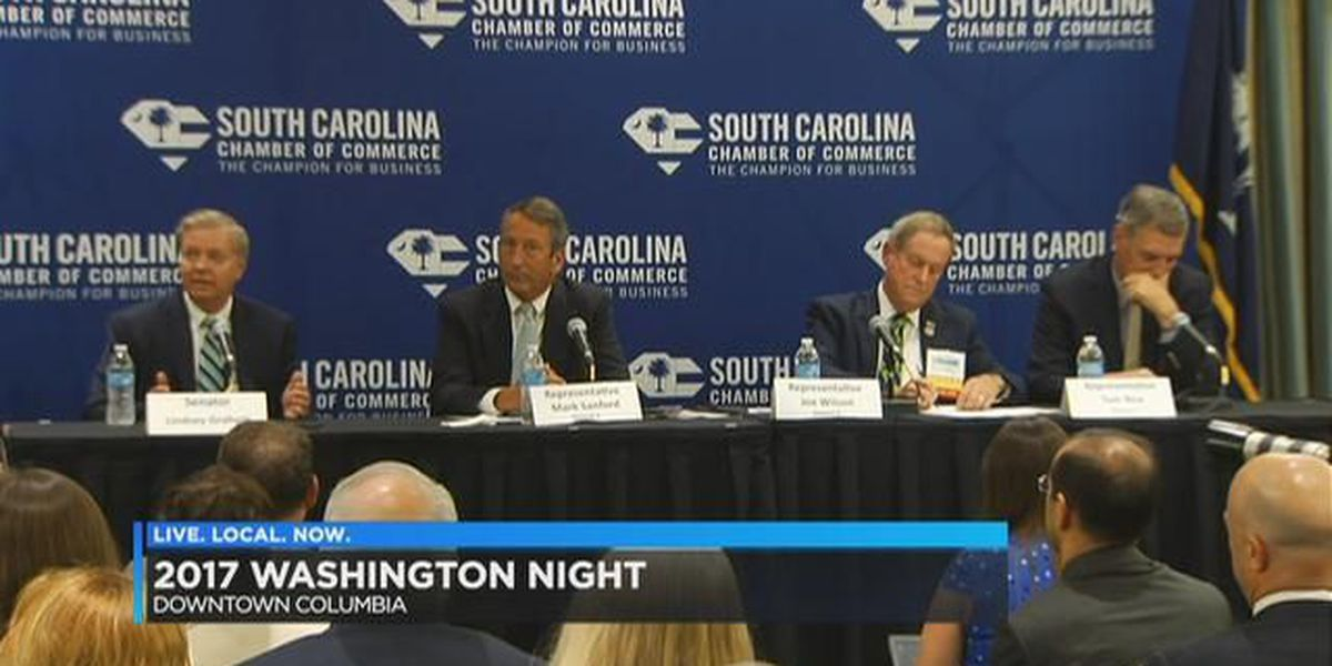 SC business leaders meet face-to-face with elected leaders at 'Washington Night'