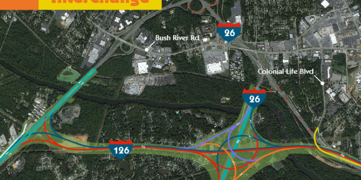 SCDOT nixes 'Malfunction Junction' alternative that would've taken dozens of W. Cola homes