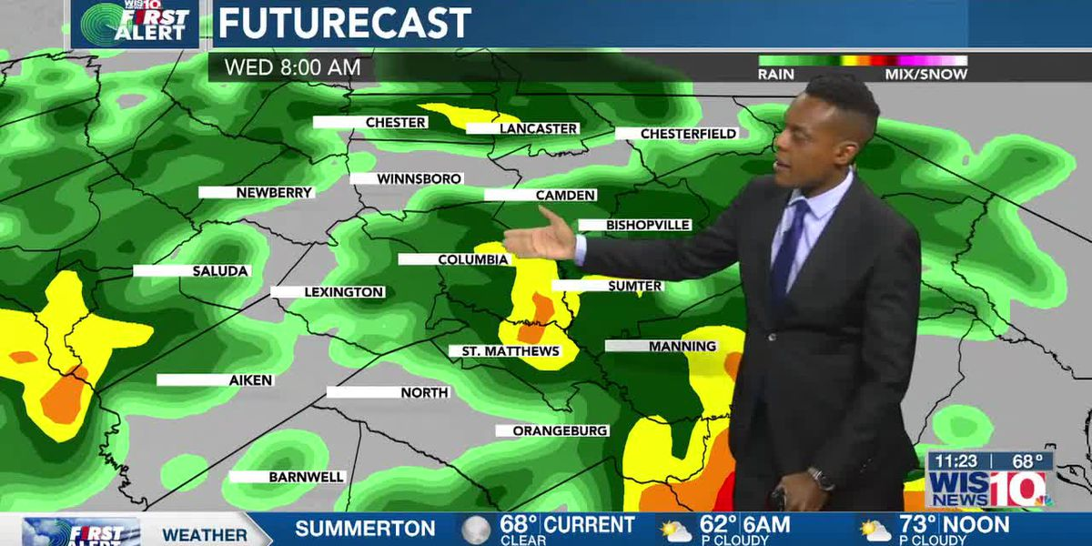 Dominic Brown's May 10th Forecast