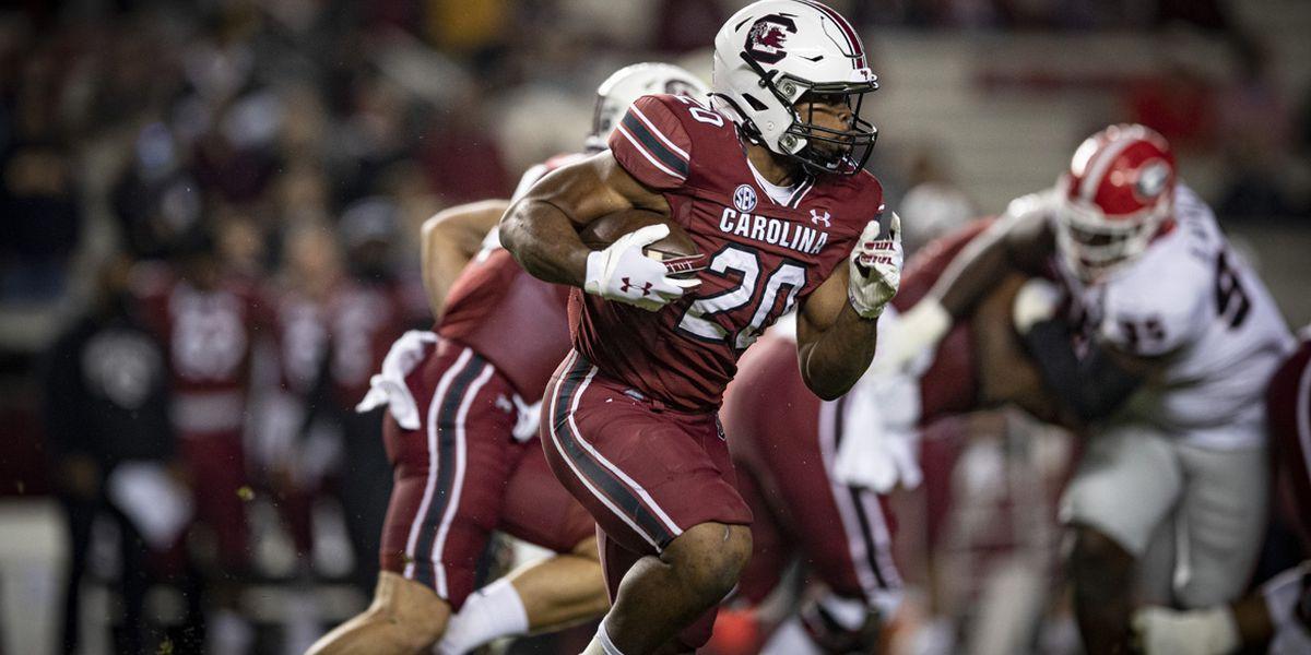 Gamecocks, Harris set sights on 1,000-yard rushing milestone