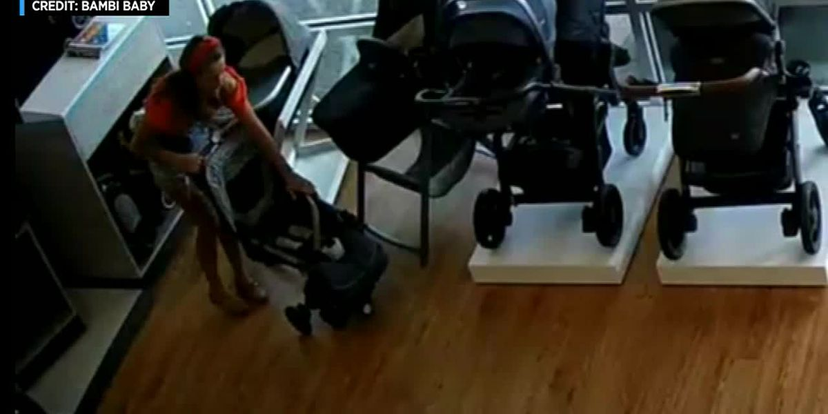 Woman in NJ steals a stroller, leaves her child behind