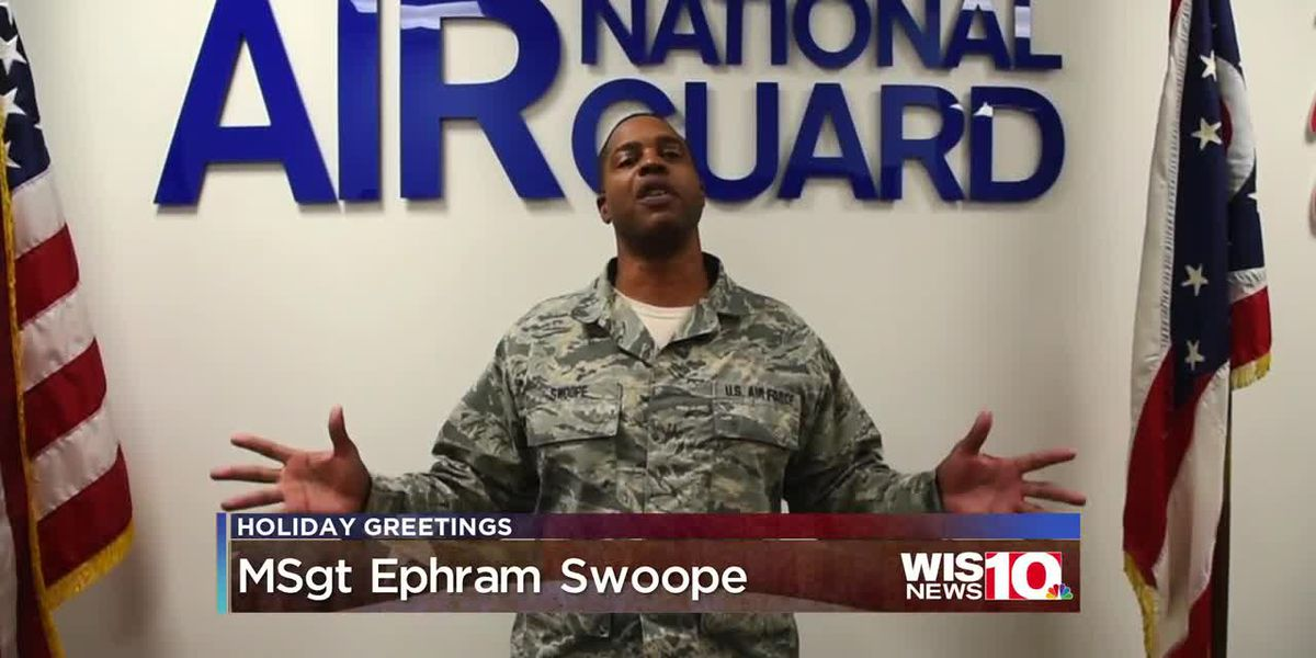 Military Greetings - MSgt Ephram Swoope