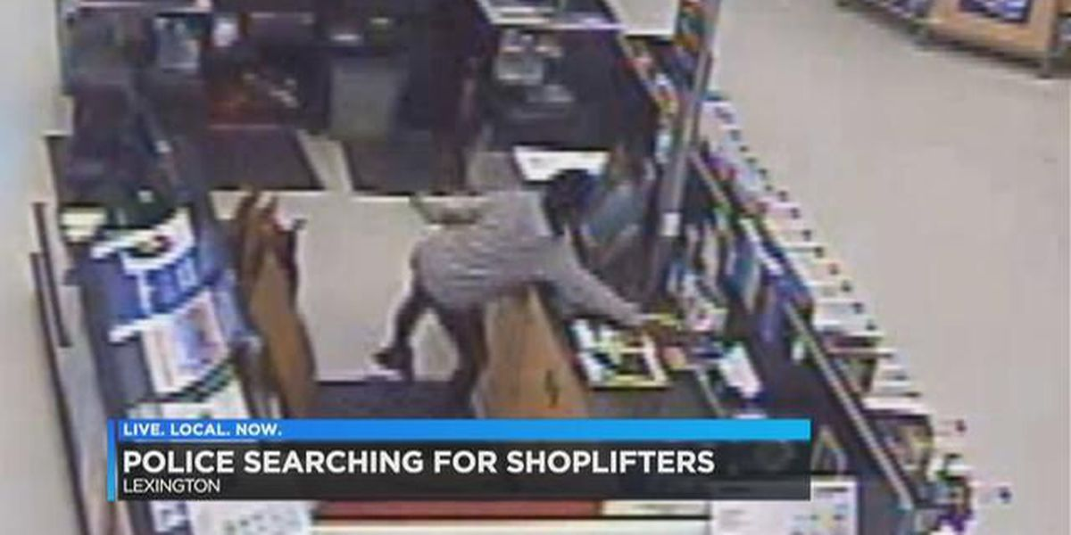 Lexington Police searching for suspects accused of shoplifting from Walmart