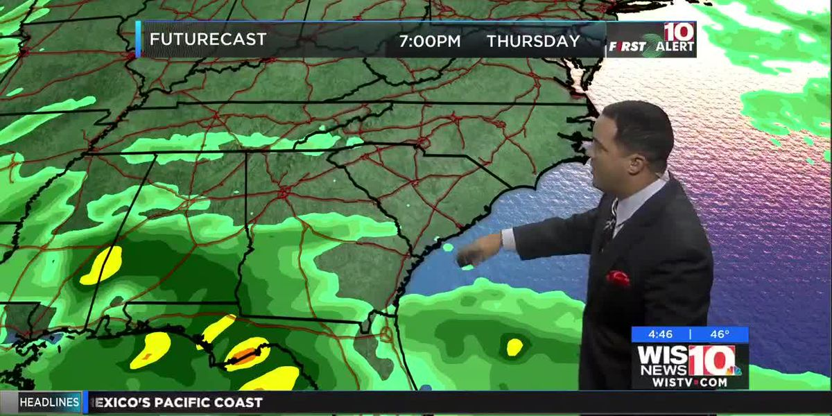 Kevin Arnone's Oct. 23 morning forecast