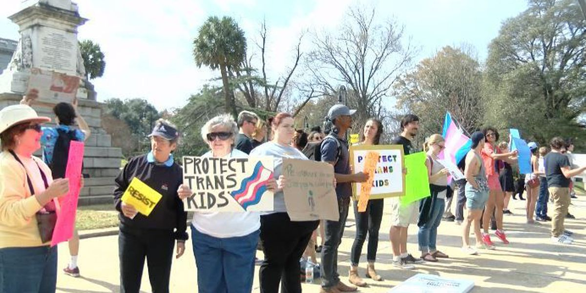 Group rallies at State House for transgender rights