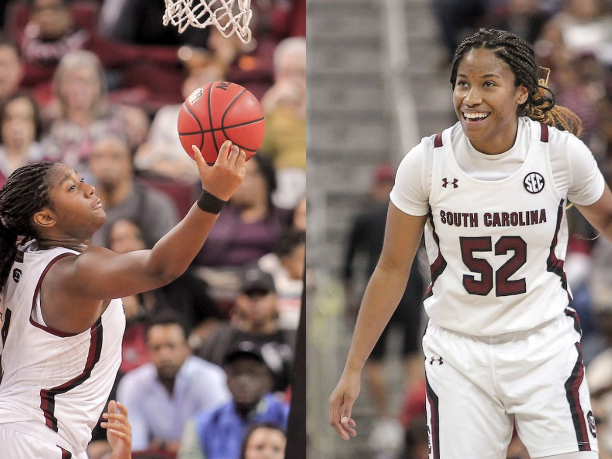 Boston, Harris named AP All-Americans for Gamecocks