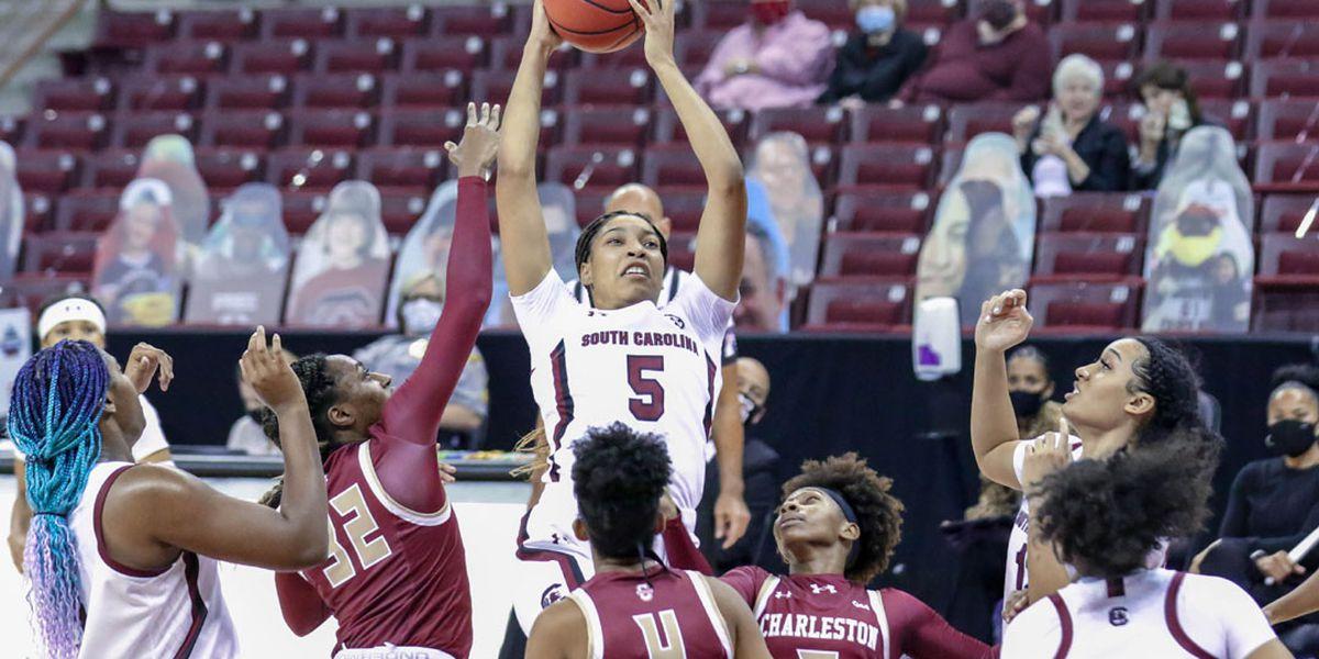Carolina dominates Charleston for season-opening victory