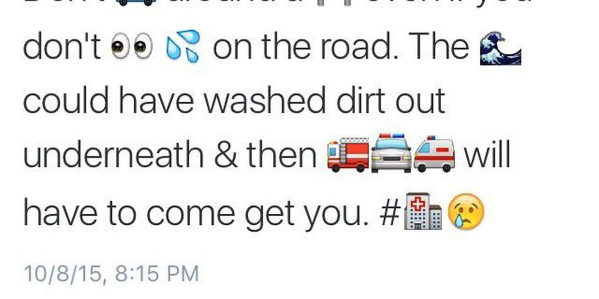 SCHP uses emojis to get anti-drunken driving message across