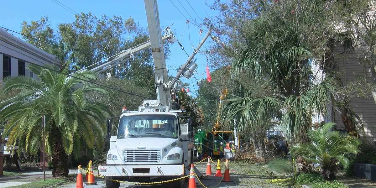Charleston residents cleaning up after Dorian thankful storm damage not worse