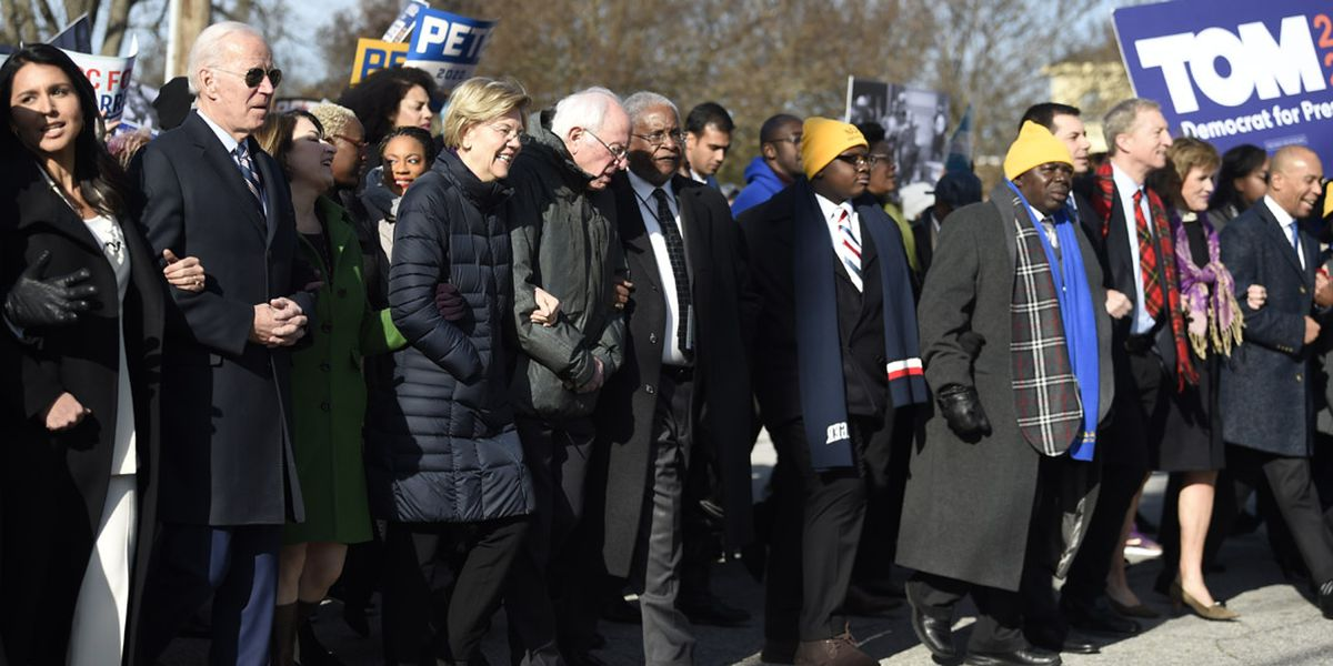 Democratic presidential hopefuls take part in King Day at the Dome