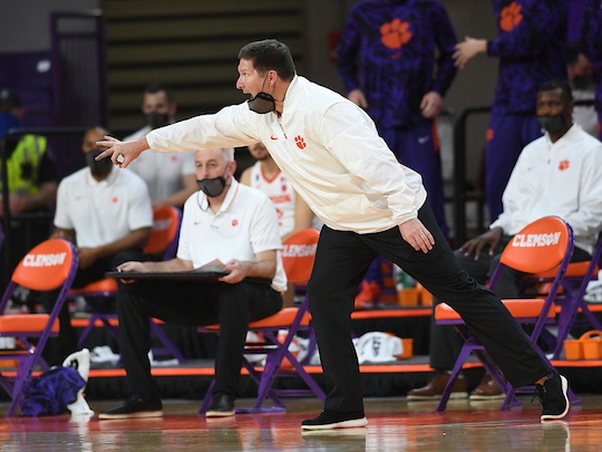 Clemson pauses team activity for men's basketball after positive COVID-19 test result
