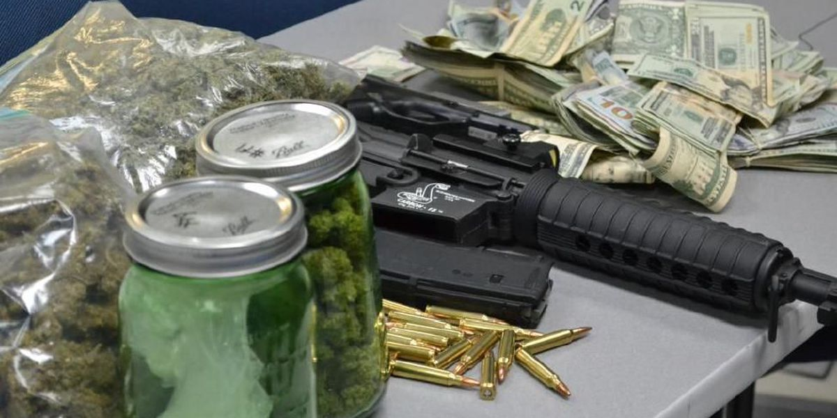 Investigation leads to discovery of drugs, cash and guns