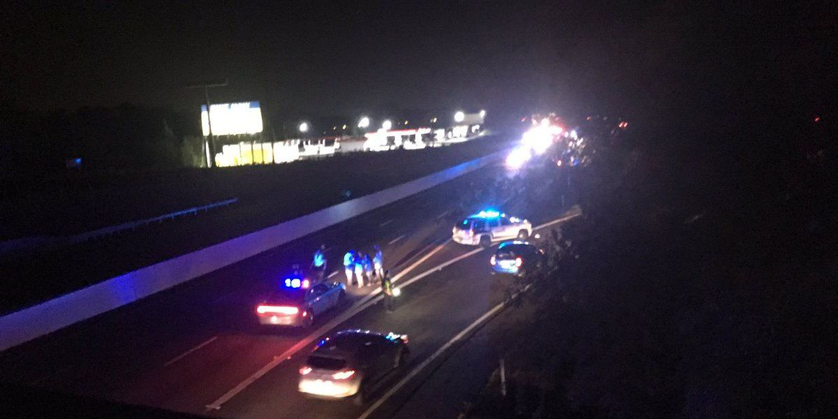 Man, 23, killed after being struck by three cars on I-26