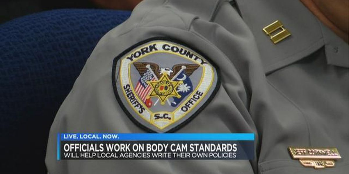 Law enforcement officials finalizing body camera policies for SC officers