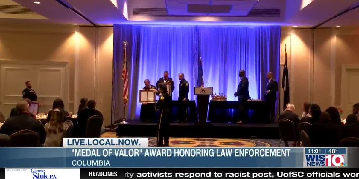 Law enforcement from around the state honored for actions above and beyond the call of duty