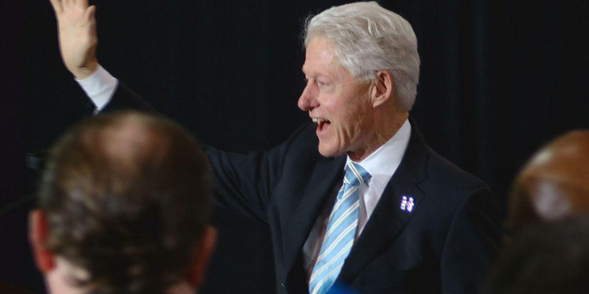 "Pres. Clinton tells Winnsboro his wife will ""Make America whole again"""