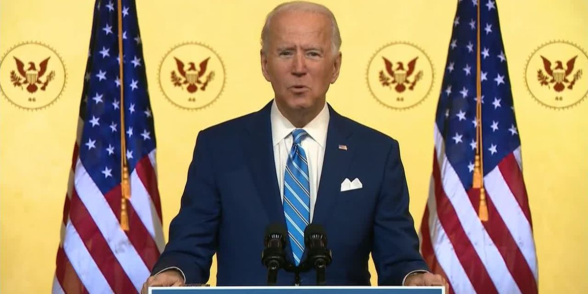 Biden urges Americans to recommit to fighting COVID-19 over Thanksgiving