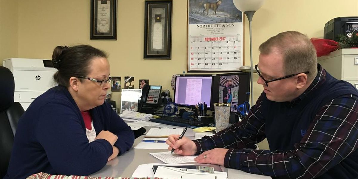 Gay man denied marriage license hopes to unseat KY county clerk