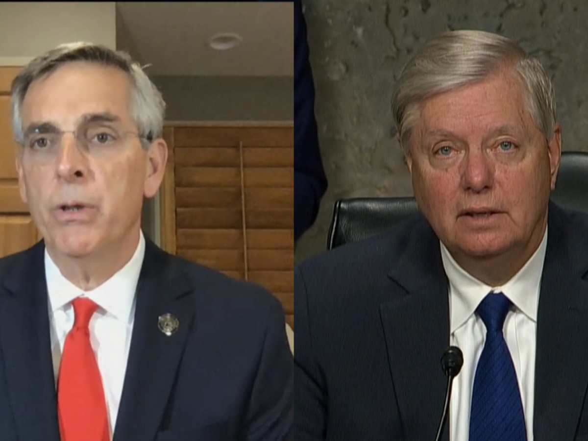 Sen. Graham responds to scrutiny after call with Georgia Secretary of State