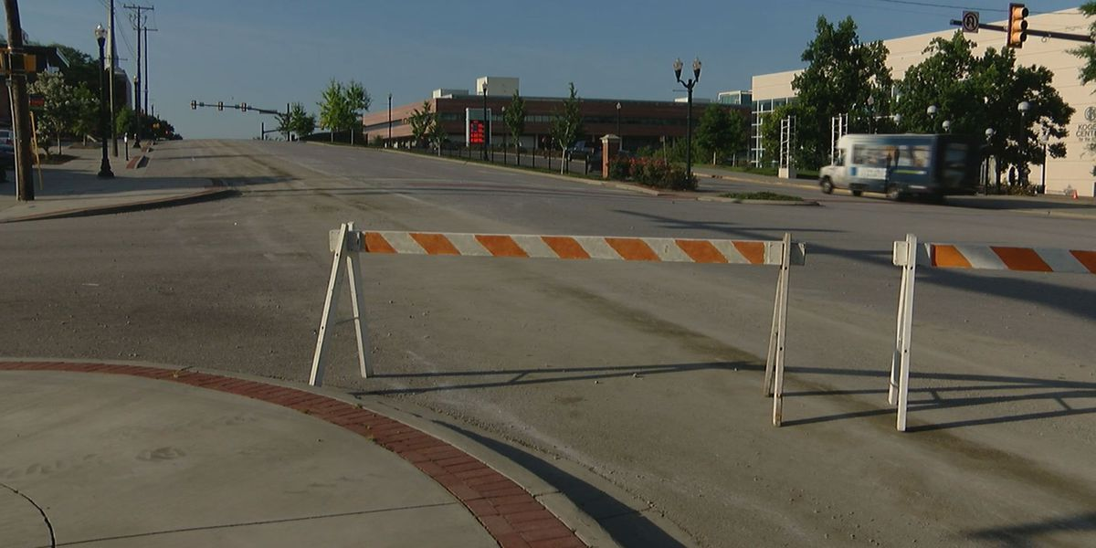 FIRST ALERT TRAFFIC: Cement cleared from Assembly St.