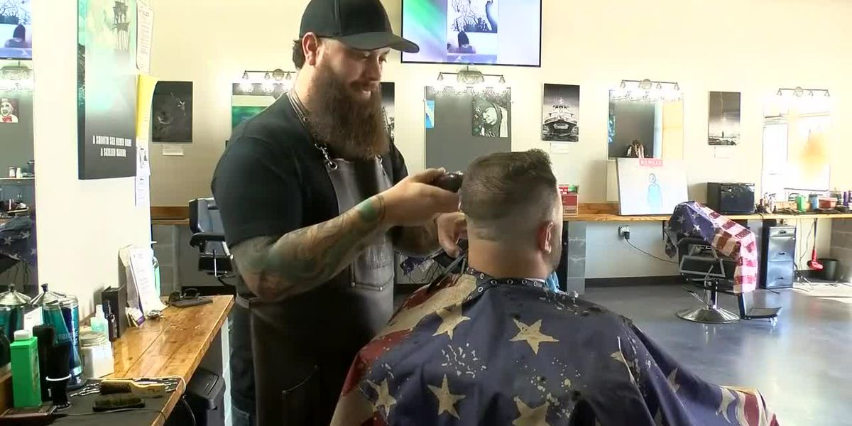 'It's basically just helping people feel alive again': Veteran starts nonprofit to provide free haircuts