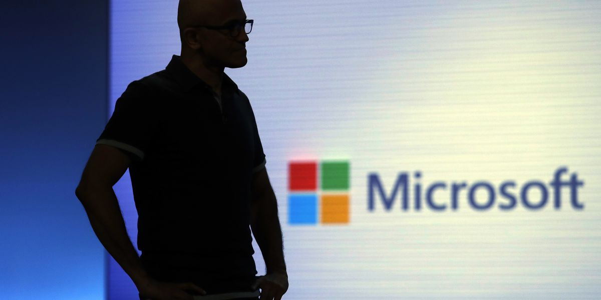 Microsoft has caught up to Apple in market value