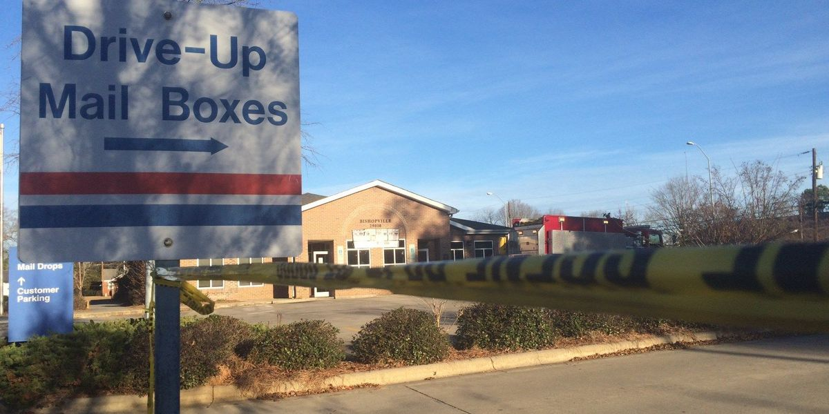 Reward offered in fire at Bishopville Post Office